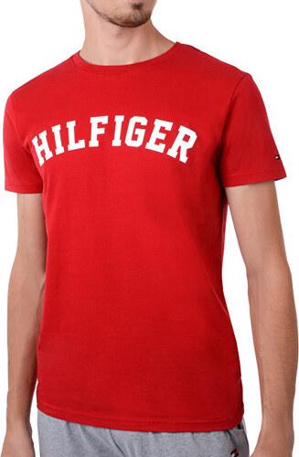 29e578b177ac Tommy Hilfiger Pánské triko Bold Cn Tee Ss Logo Tango Red UM0UM00054 ...