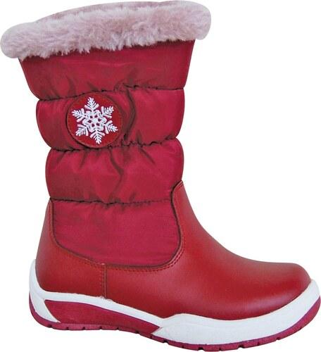 7d7f9d27932f Protetika Dievčenské snehule Snow - červené - Glami.sk