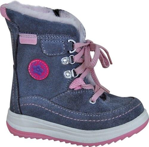 e399ea8fd2 Protetika Dievčenské zimné topánky Bory - šedé - Glami.sk