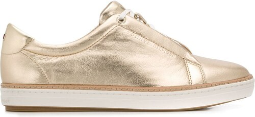 36e704f9c27 Tommy Hilfiger low-top sneakers - Gold - Glami.cz
