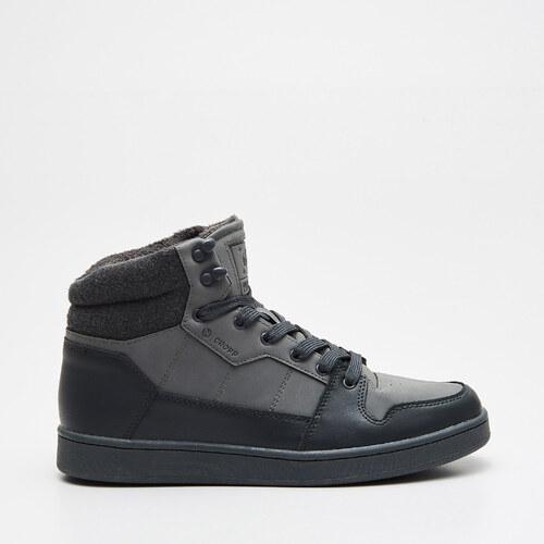 Cropp - Vysoké sneakersy - Šedá - Glami.sk a4601d50121