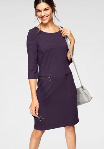 bianca Žerzejové šaty fialová - Glami.cz 535cd06021