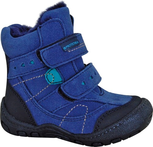 e83e831cd52da Protetika Chlapčenské zimné topánky Laros - modré - Glami.sk