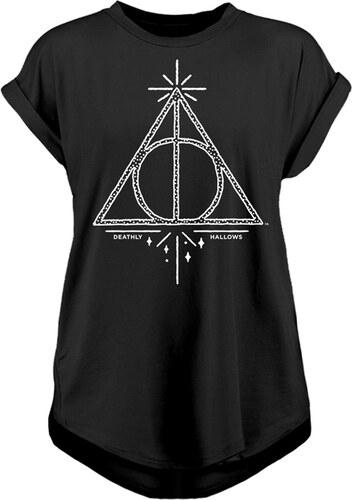 7e170db65fb Dámské tričko Harry Potter - Relikvie smrti - Glami.cz