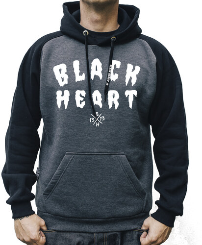 Pánská Mikina BLACK HEART FUCKER - Glami.cz c3d1c4abfb