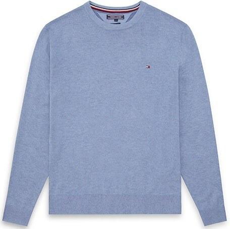 a0c70010236 Tommy Hilfiger Pánský modrý svetr Tommy Hilfiger 6800097669 - Glami.cz