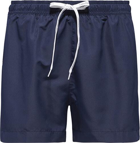 300722f5c41f Calvin Klein Pánske kúpacie šortky Short Drawstring KM0KM00104-470 Blue  Shadow