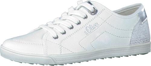 895300be54d s.Oliver Dámské tenisky White Silver 5-5-23631-20-193 - Glami.cz