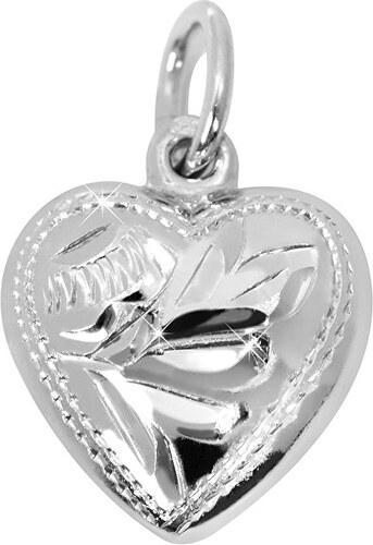 1d6d72e7b Brilio Silver Strieborný prívesok Srdce 441 001 00030 04 - 0,96 g ...