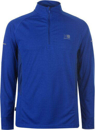 813a90cbb0f -32% Tričko pánské s dlouhým rukávem Karrimor Quarter Running Classic Blue