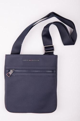 Tommy Hilfiger tmavo modrá unisex crossbody taška Essential Crossover 108f5070a32
