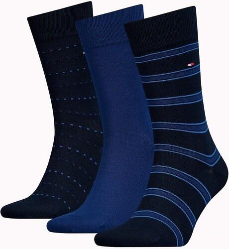 1a7f49e22f Tommy Hilfiger ajándék 3 csomag zokni Kiemelés kék - Glami.hu