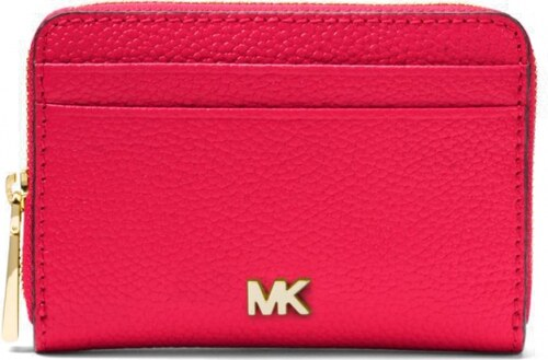 0eae2564770c39 Michael Kors peněženka zip around pebbled leather ultra pink - Glami.cz