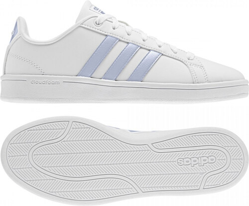 Dámske tenisové topánky adidas Performance CF ADVANTAGE (Biela   Svetlo  modrá   Čierna) c1d5f87da0