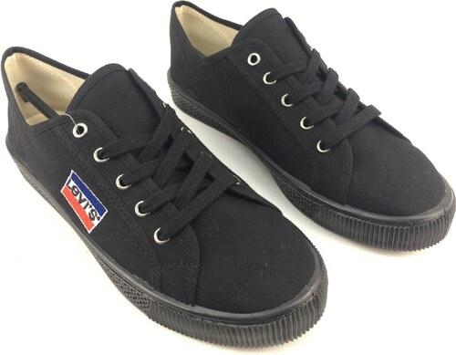 Dámské boty Levis Malibu Logo Canva Černé - Glami.sk 2453d9a9d5