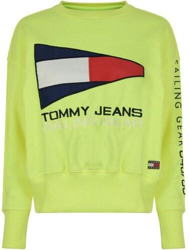 ba809bc61d Dámská mikina Tommy Hilfiger Jeans 90s Sail Žlutá - Glami.cz