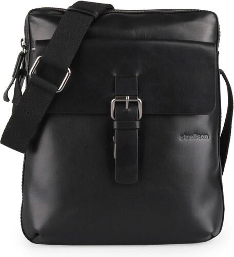 Strellson Pánska taška Strellson 4010002034-900 čierna - Glami.sk 59f761a05a2
