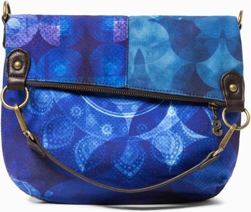 81930010bd Desigual modrá kabelka Fun Blue Folded - Glami.sk