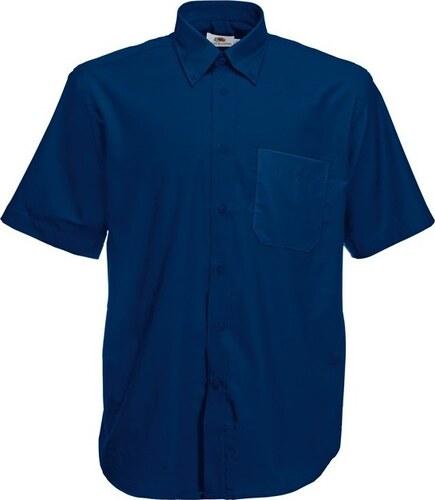 Fruit of the Loom Pánská košile Oxford krátký rukáv  30499bbe95