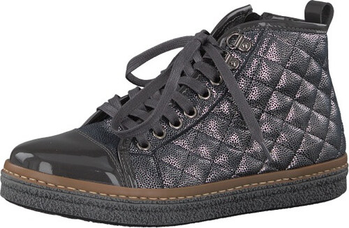 cfed9593ccf9 -49% Tamaris Elegantné dámske členkové topánky 1-1-25725-39-234 Anthracite  Com