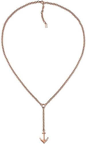 53f73f33a Tommy Hilfiger Bronzový náhrdelník s kotvou TH2700923 - Glami.cz