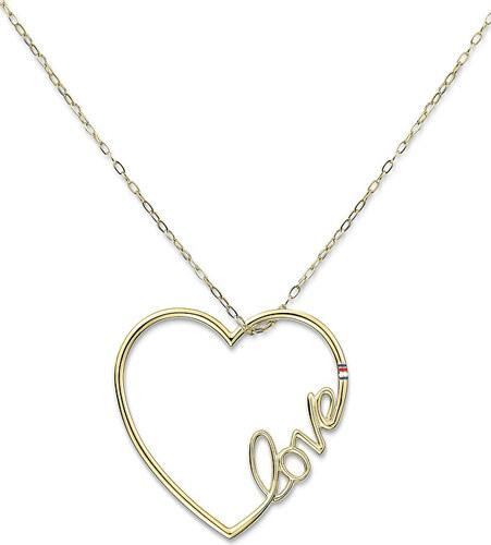 581d31386 Tommy Hilfiger Dlouhý ocelový náhrdelník se srdcem TH2700908 - Glami.cz