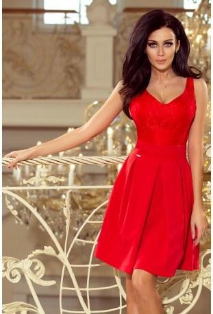08f5dce1e06 Dámské šaty Red Romantic NUMOCO 208-2 - Glami.cz