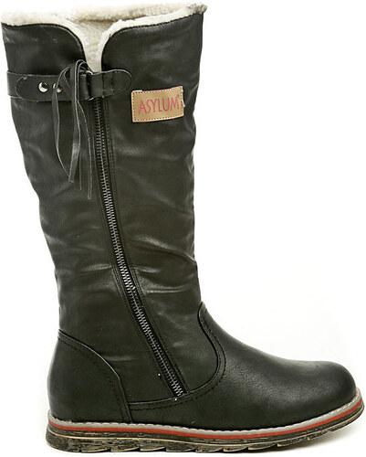 Asylum Kozačky dámská zimní obuv AR-233-36-01 černá Asylum - Glami.cz cefdb2c805