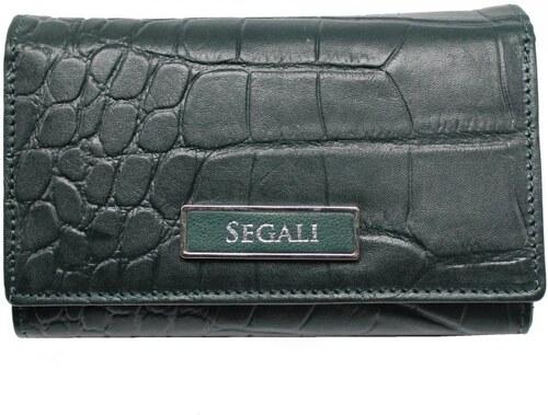 c41f31289f SEGALI Dámska kožená peňaženka 910199125 ružová - Glami.sk