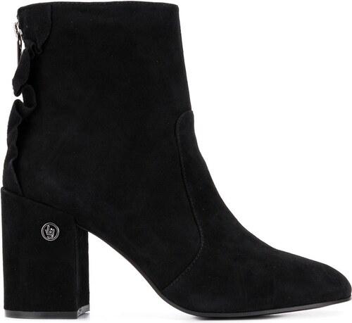 Liu Jo block heel ankle boots - Black - Glami.sk 5429b6fe898