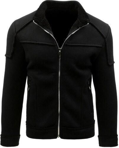 Čierny pánsky kabát - Glami.sk 0ea15ff76de