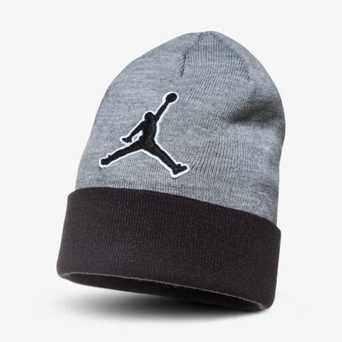 a9719115cd9 Nike Jordan Čepice Zimní Beanie Graphic Muži Doplňky Čepice AA1302091 Šedá