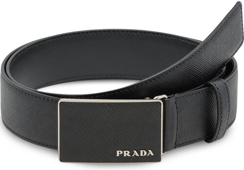 Prada logo buckle belt - Black - Glami.sk 314da100afd