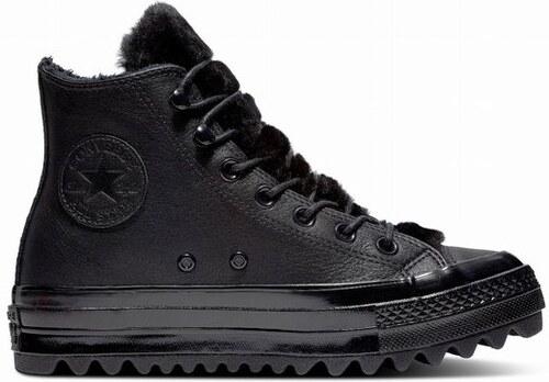 a552cce251d Dámské boty Converse Chuck Taylor All Star Lift Ripple 41 black black black