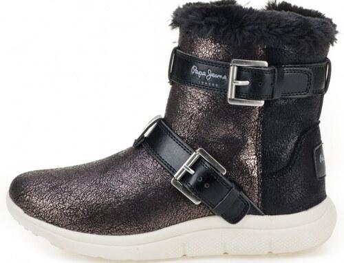 Pepe Jeans dámské sněhule Hyke W Snow 40 černá - Glami.cz e483a1b6ab