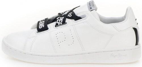 eb62f20951 Pepe Jeans dámské tenisky Brompton Laces 39 bílá - Glami.cz