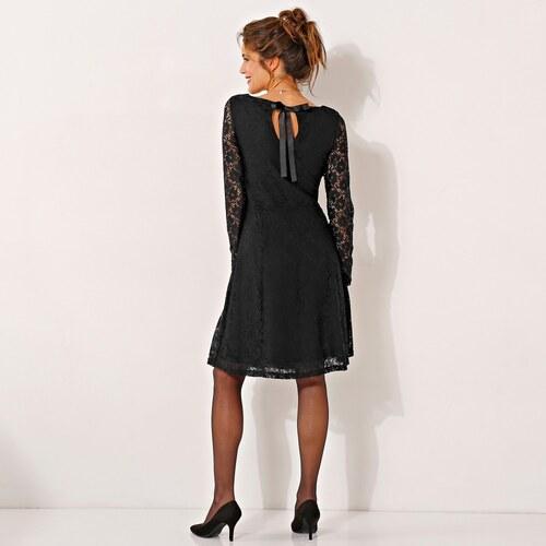 Blancheporte Krajkové šaty s dlouhými rukávy černá - Glami.cz ef2ef42f0e