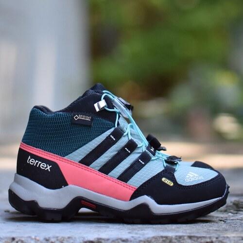 adidas Performance TERREX MID GTX K Dětské boty AQ4142 - Glami.cz 50eb266a39