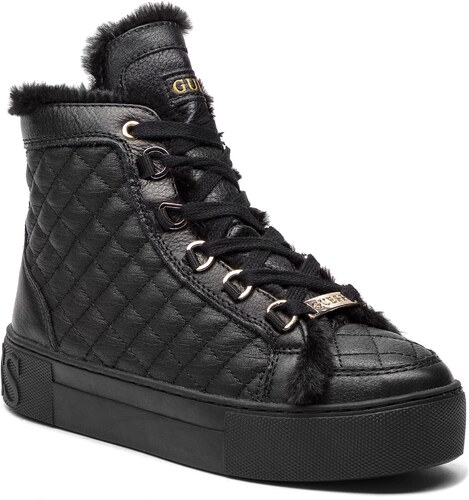 7bcc6084615d8 Sneakersy GUESS - FLMEE4 LEA12 BLACK - Glami.cz