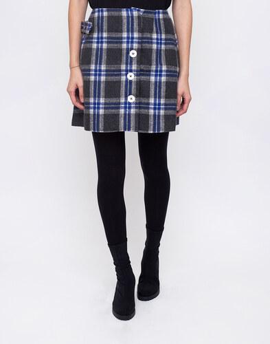 732e585e5a3 House of Sunny Aspin Kilt Record Skirt Asphalt Grey Blue - Glami.cz