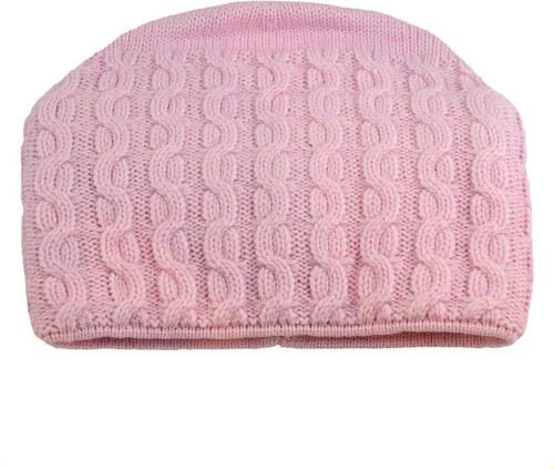 1f937c8a0 Pletená dámska čiapka - ružová - Glami.sk