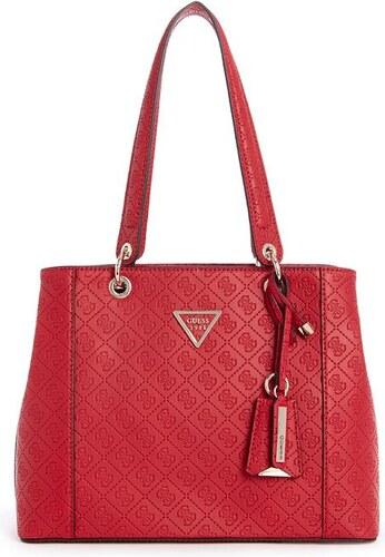 GUESS kabelka Kamryn Quattro G Logo Shopper červená - Glami.cz c9474798d33
