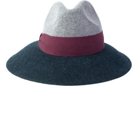 cad0ff481bf coxes Dámský vlněný klobouk šedomodrý - Glami.cz