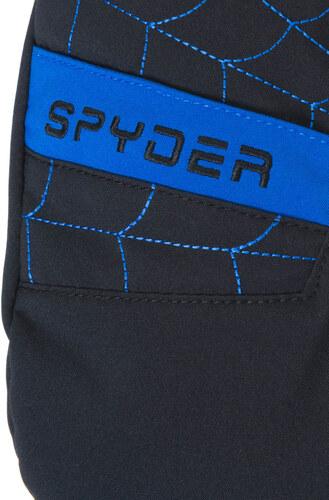 e5779aa87f1 Dětské rukavice Spyder Boy s Overweb Ski černé modré palčáky - Glami.cz