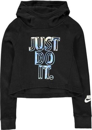 Detská mikina Nike JDI Crop Hoodie Junior Girls - Glami.sk a02dc105e1f