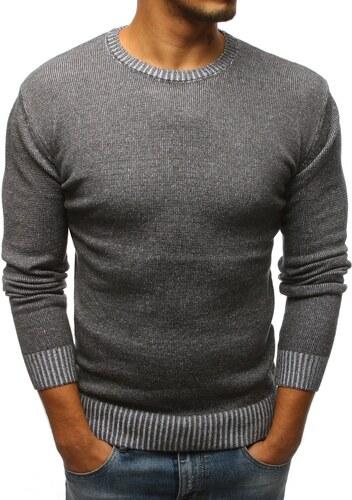 5842e223dedc Buďchlap Elegantný antracitový sveter - Glami.sk