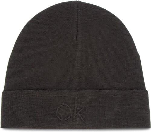 Căciulă CALVIN KLEIN - Ck Embossed Beanie K50K504092 001 - Glami.ro 6d0a57fdc870