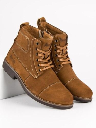 Hnedé zimné topánky American - Glami.sk 5c006857c5b