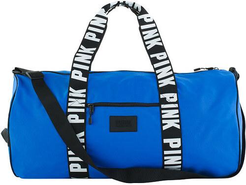 VICTORIA S SECRET Dámská sportovní taška Victoria s Secet PINK modrá ... cfba25ad8d