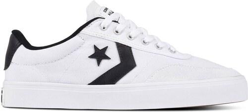 3eb64787968 Converse Courtlandt Canvas Shoes White Black - Glami.cz